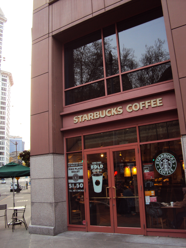 SBUX first and Yesler